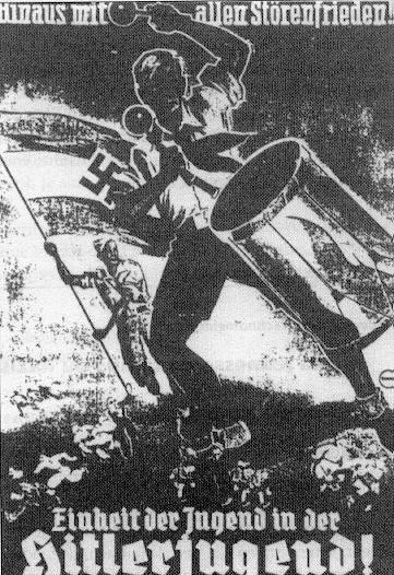 Affiche des jeunesses hitlériennes